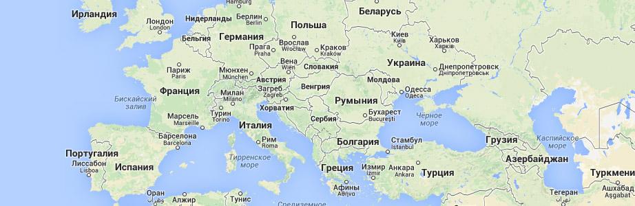 Карты России (карта России),