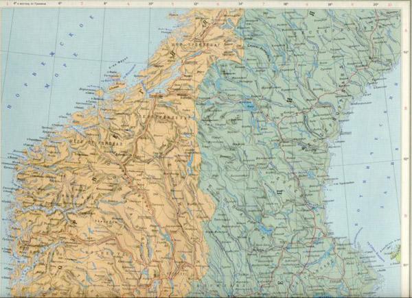 Швеция карта швеции подробная карта