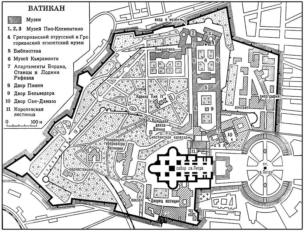 Карта схема на русском