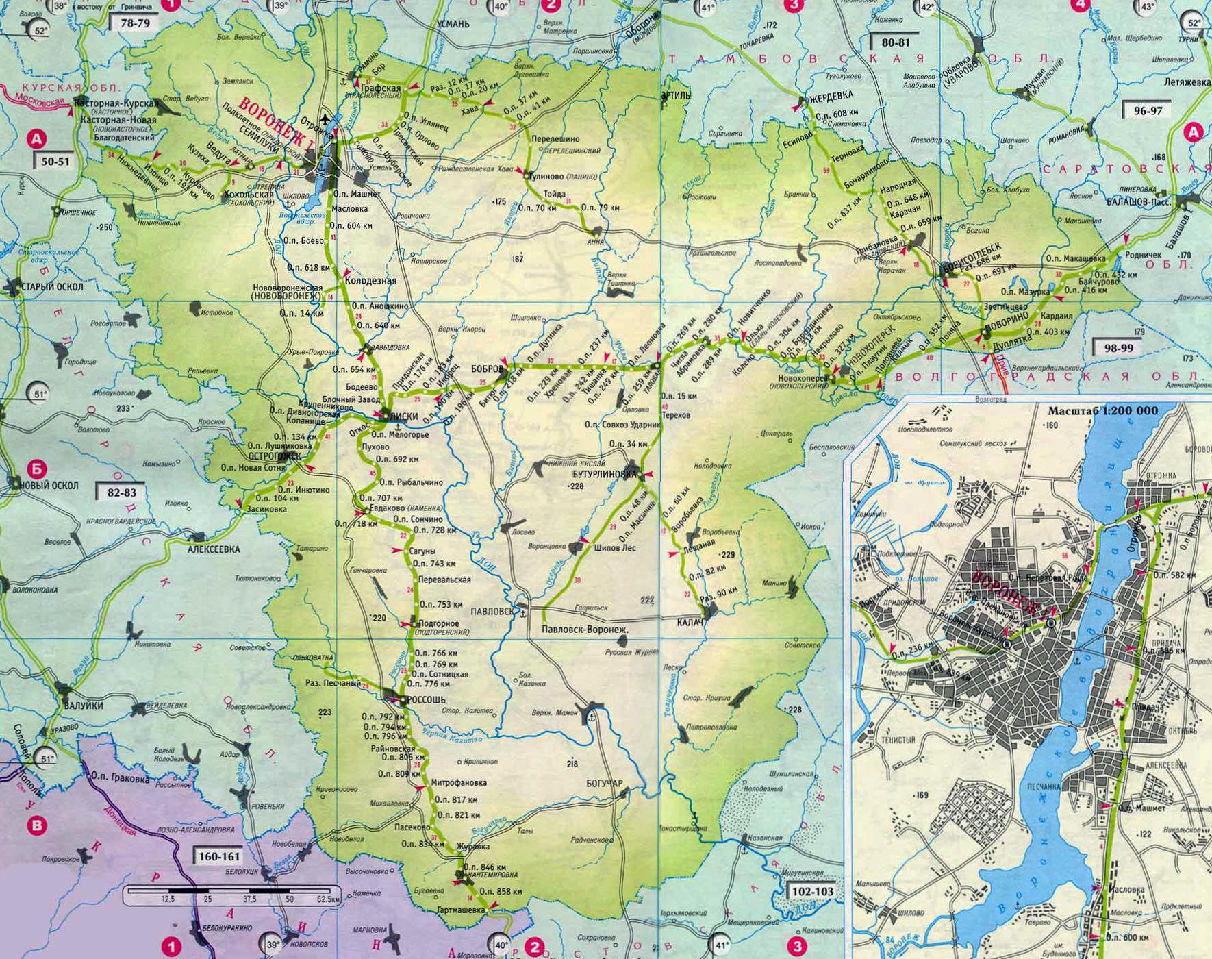 Карта схема г воронеж фото 263