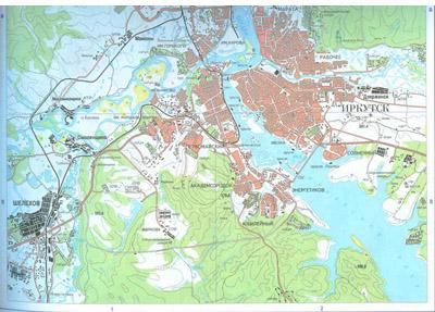 И пригородов подробная карта города