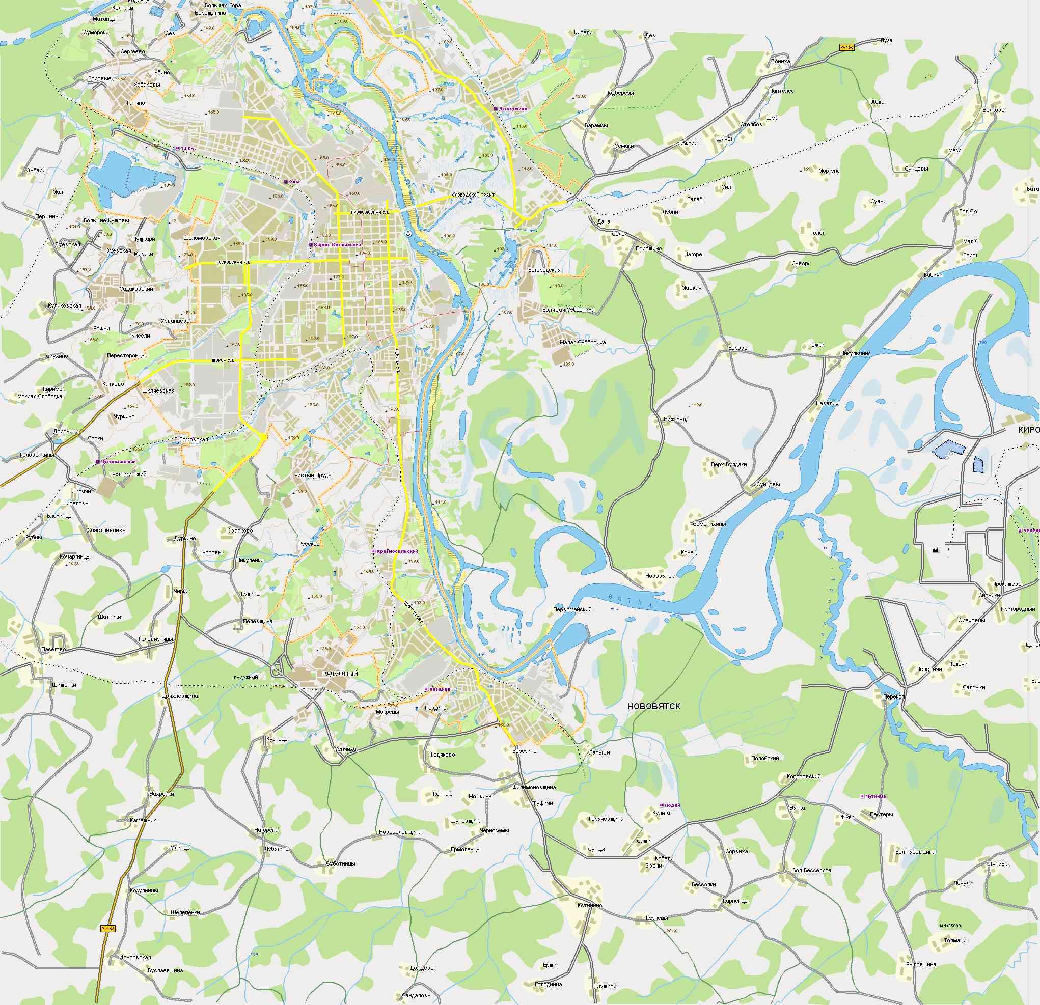 Автомобильная Карта России