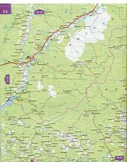 Карта автомобильных дорог Нижегородской области и соседних регионов.  Подробная карта дорог Нижегородской...