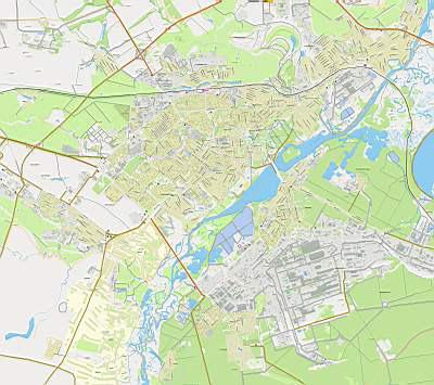 Карта липецка карта г липецк с улицами