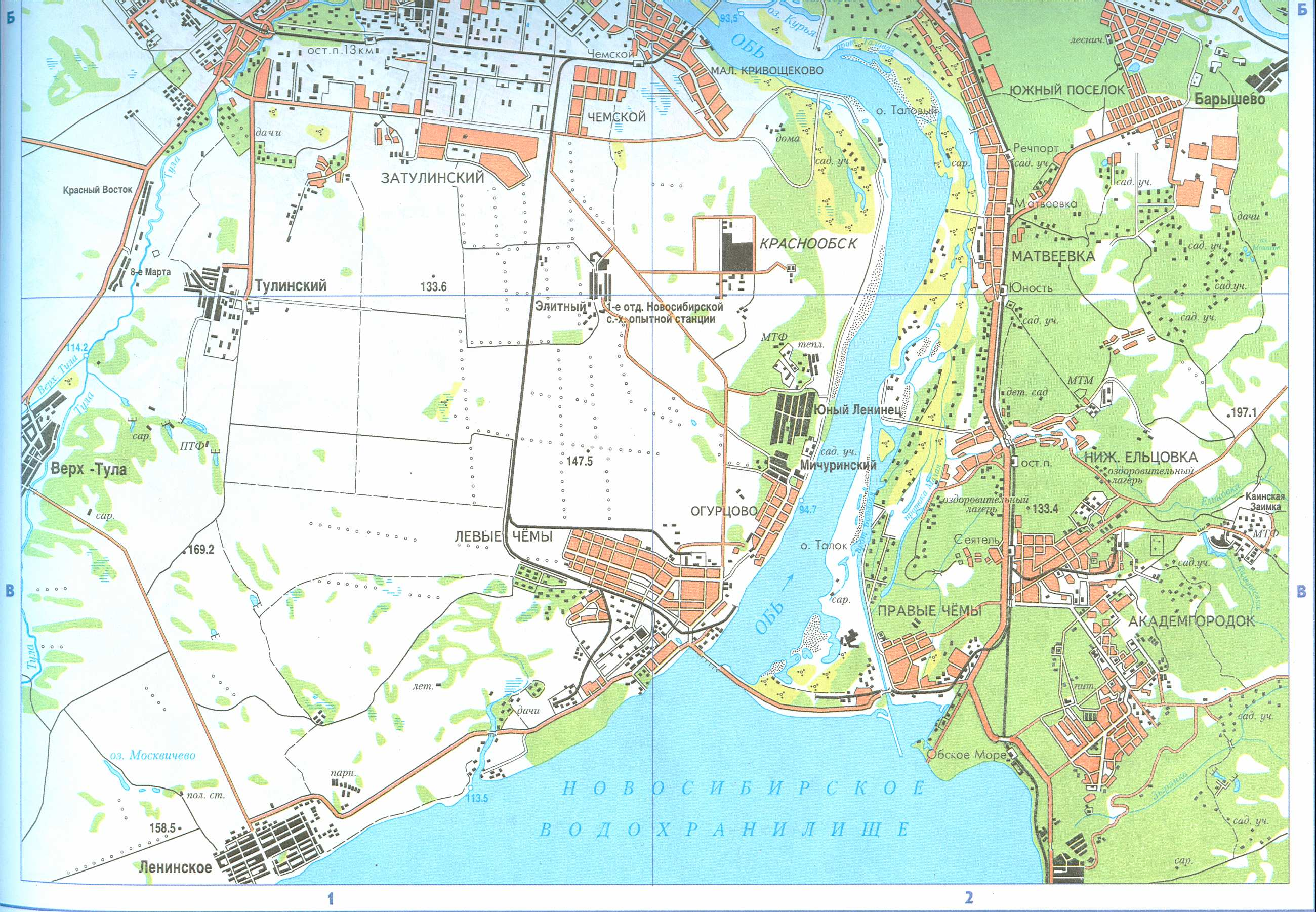 Карты Белгородской Области