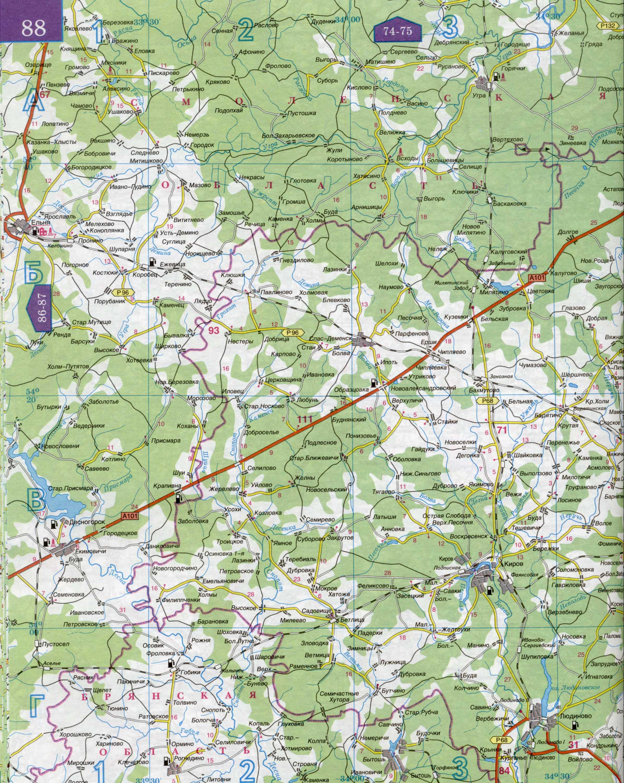 Схема дорог смоленска