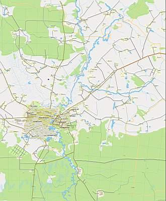 Карту Йошкар Олы