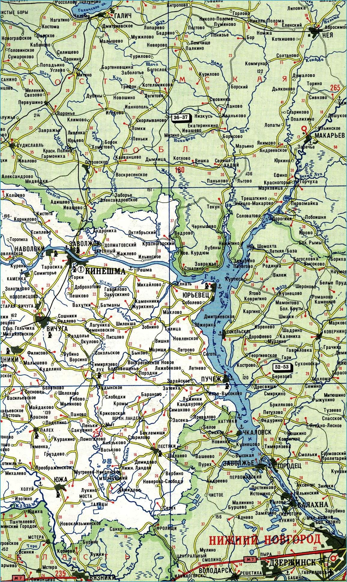 схема ивановской области
