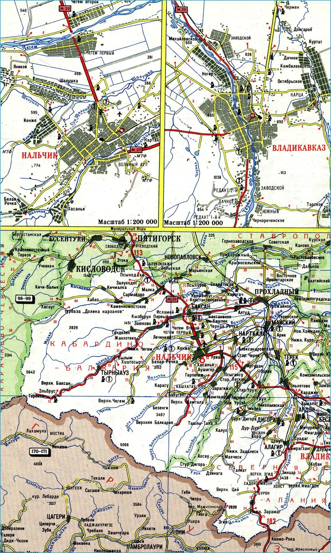 схема северной дороги рязань