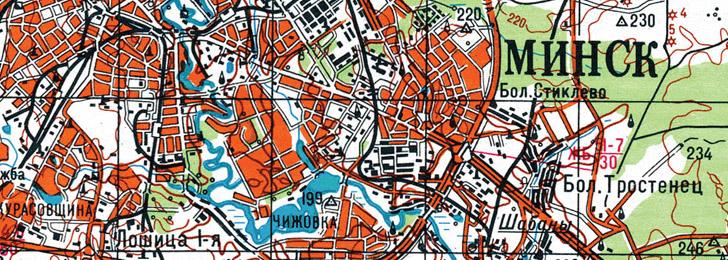 Топографические карты (карты