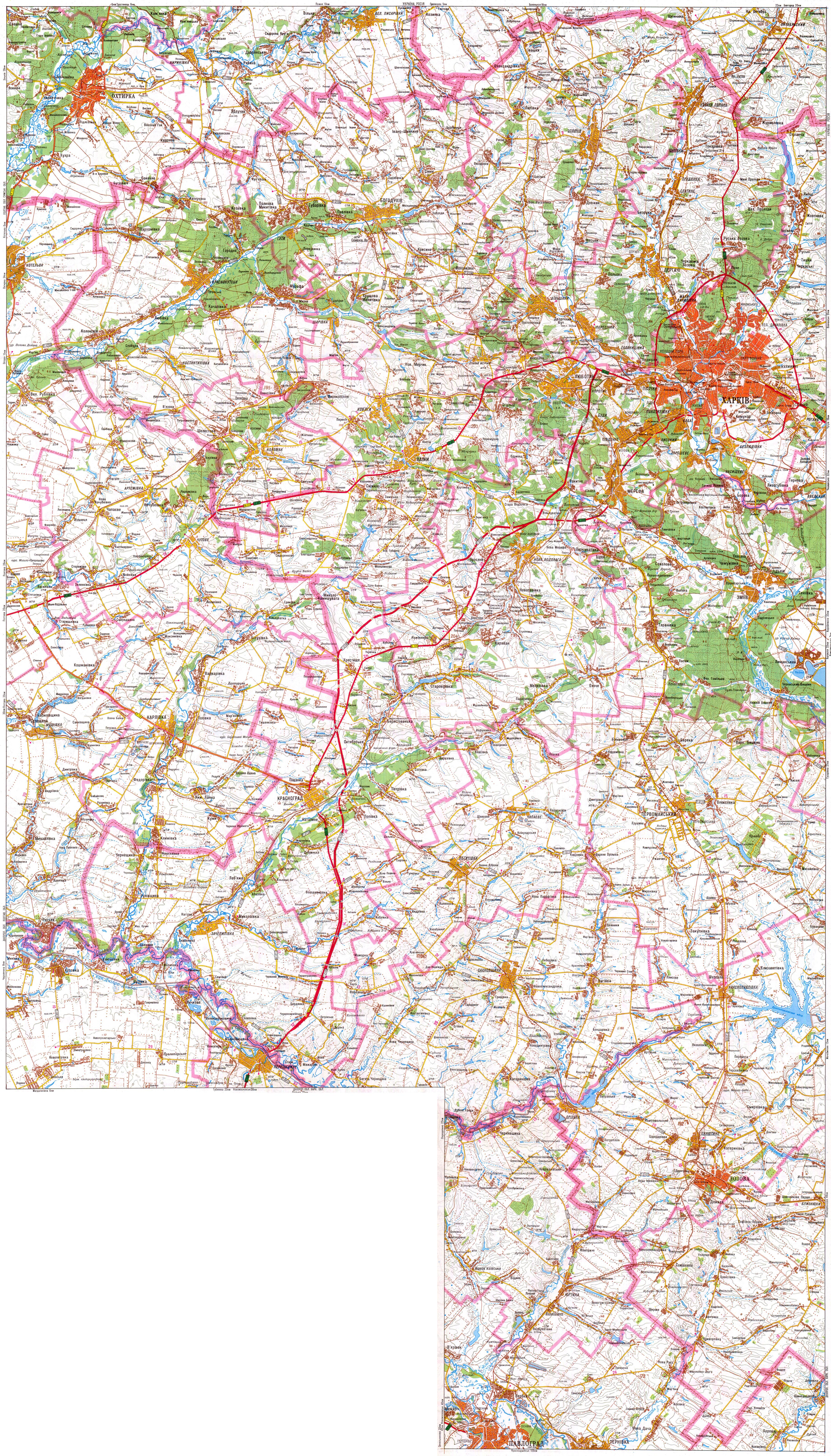 Карта схема свердловской области фото 916
