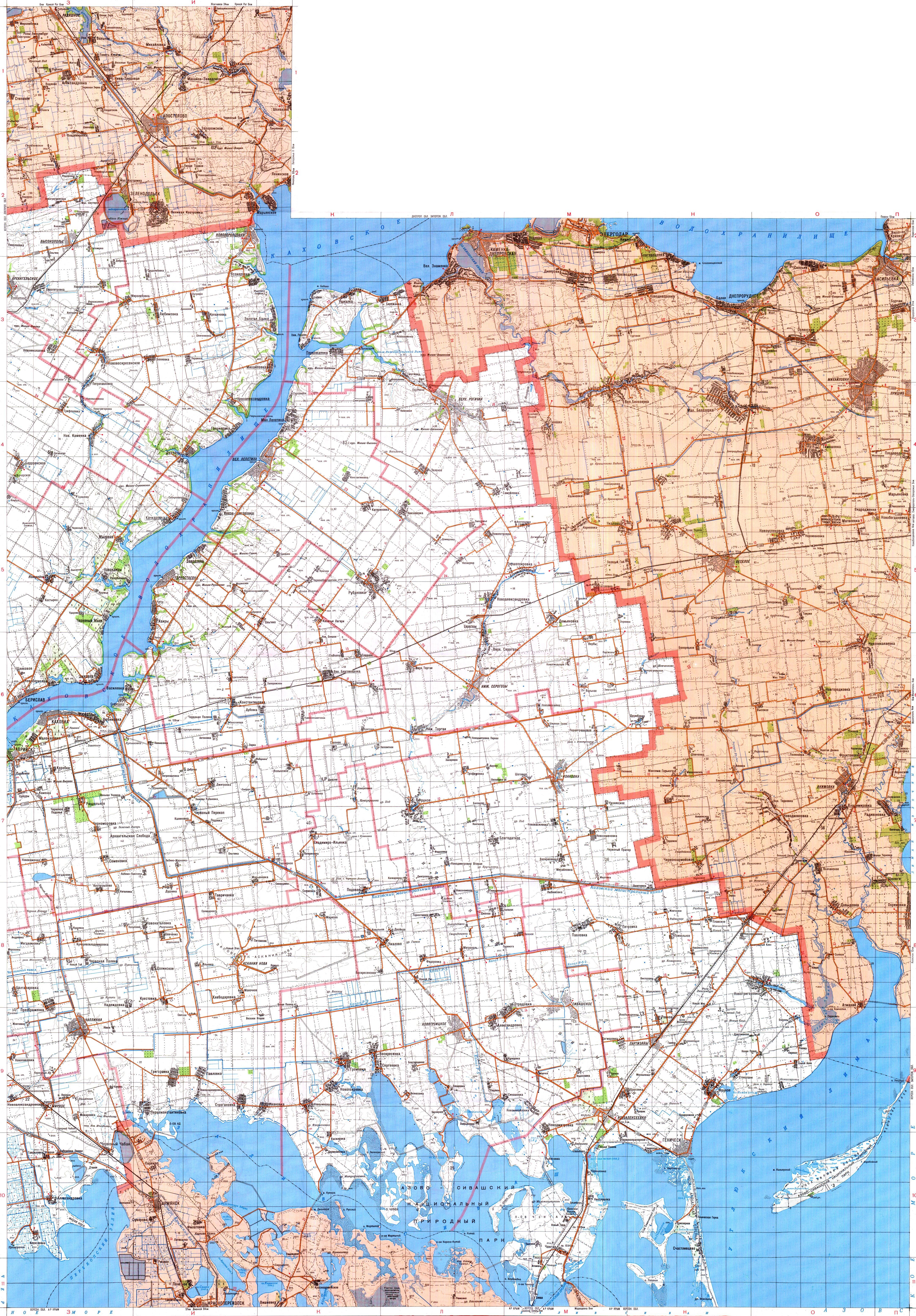 Херсонская область. Топографические карты Херсонской ...: http://www.raster-maps.com/topographical-map-of-ukraine-20/