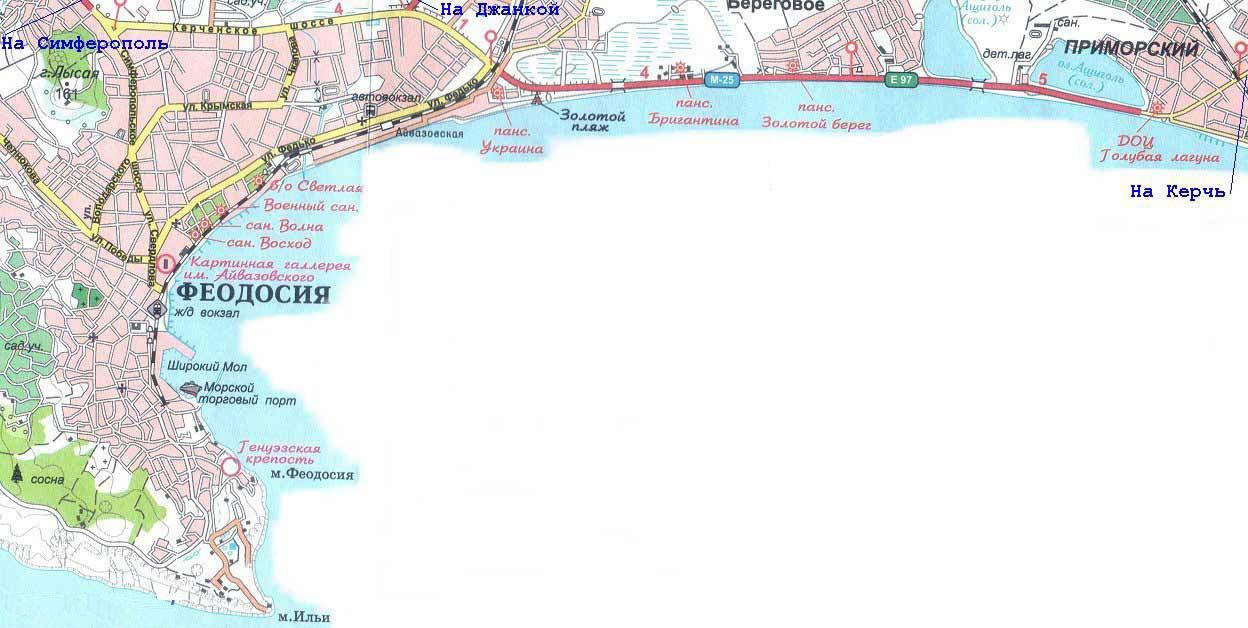 Gps Карта Приморья