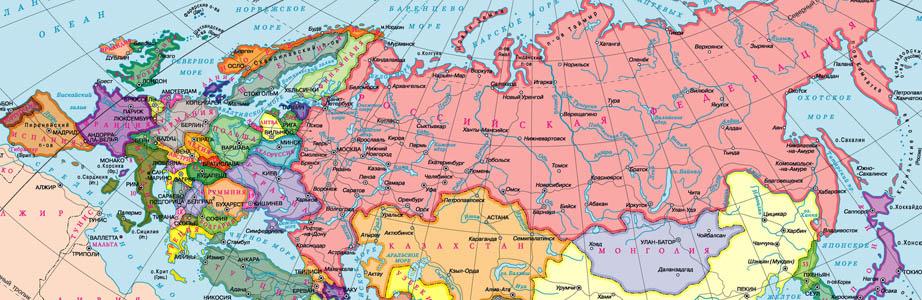 Raster Maps Karty Rossii Karty Ukrainy Karty Stran Evropy I
